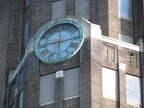 Buffalo Central Train Terminal exterior clock closeup