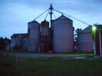 Old Abandoned Grain Mill
